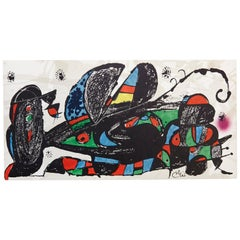 Joan Miro Lithography