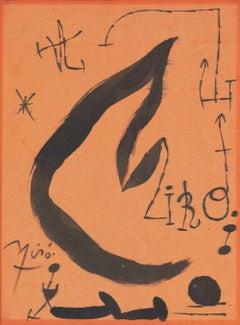 Les Essències de la Terra by Joan Miró - Surrealist painting, 1968