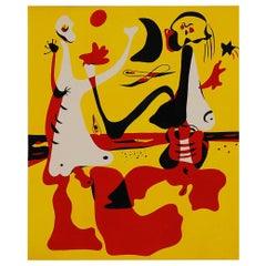 Joan Miró Personnages Devant la Mer, Figures by the Sea