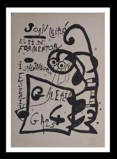 """ El pi de Formentor, 1976 "" original lithograph"