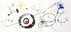 1960s Joan Miró lithograph Derriere le Miroir (Miró 1960s)