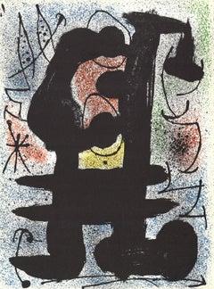 1967 Joan Miro 'Cosmos II' Surrealism Multicolor France Lithograph