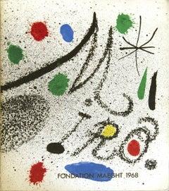 1968 After Joan Miro 'Miro Foundation Maeght' Surrealism Multicolor Book