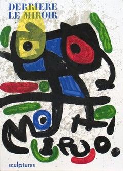 1970 Joan Miro 'Sculptures' Surrealism Multicolor,White,Yellow,Green,Black Book