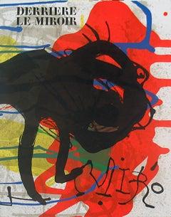 1973 After Joan Miro 'Miro Derriere le Miroir, no. 203' Surrealism France