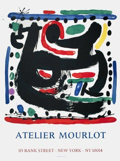 1975 After Joan Miro 'San Lazzaro et Ses Amis' Surrealism Multicolor