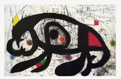 1979 Joan Miro 'Shadows' Surrealism Multicolor USA Offset Lithograph