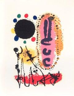 À la sauté du Serpent - Original Lithograph - 1954