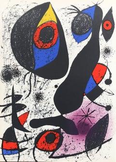 Abstract Bird - Original Lithograph (Mourlot #837)