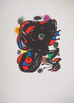 XXe Siecle - Original lithograph, Hand Signed (Mourlot #1106