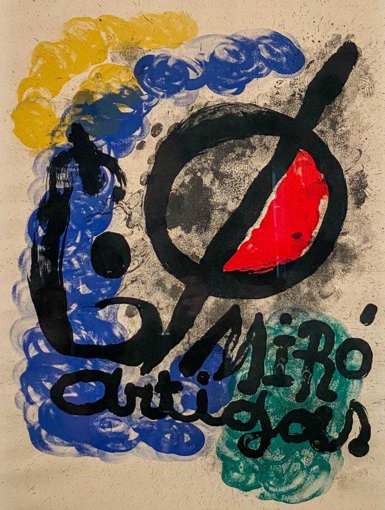 Joan Miro Spanish, 1893-1983 Affiche pour l'Exposition Miro-Artigas, 1963  Lithograph on Rives paper 33