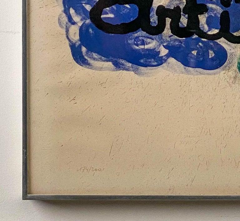 Affiche pour l'Exposition Miro-Artigas, 1963 For Sale 1