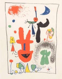 Au Cirque - Original Lithograph - 1948