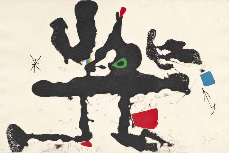 Barcelona III (from Barcelona Suite)  - Print by Joan Miró