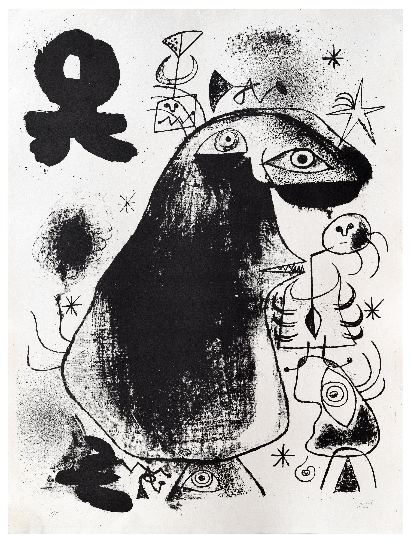 Barcelona: XXXVI - Joan Miró, Lithograph, Print, Cubism, Surrealism