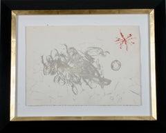 """""""Cantic Del Sol"""", original etching and aquatint."""