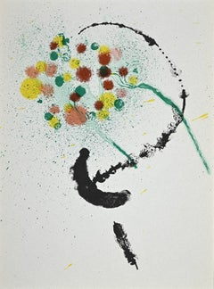 Composition 1968 - Original Lithograph by Joan Mirò - 1968