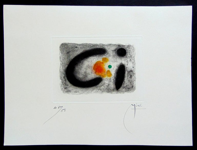 Composition III, from: Rockets  Composition III, from: Fusées - Print by Joan Miró