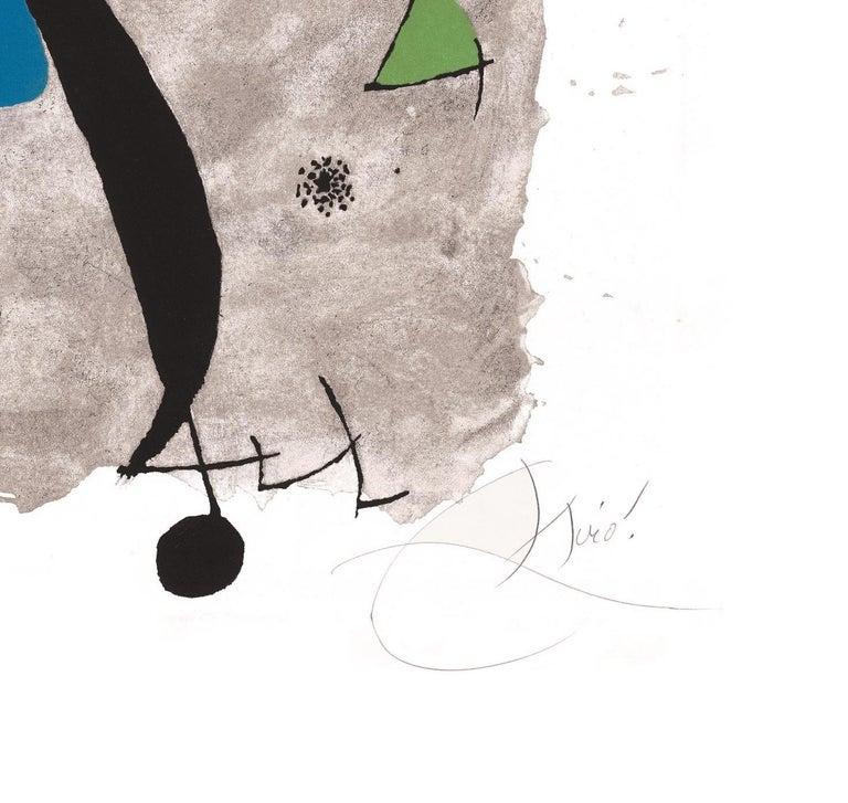 Constellation III - Original Etching - Print by Joan Miró