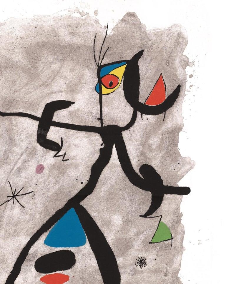 Constellation III - Original Etching - Surrealist Print by Joan Miró