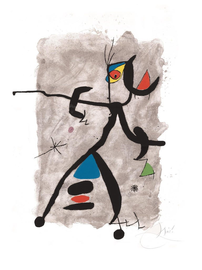 Joan Miró Abstract Print - Constellation III - Original Etching