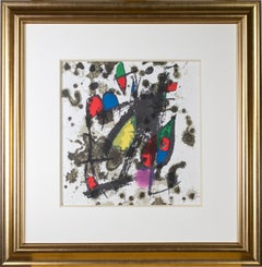 Cover from 'Miró Lithographs II, Maeght Publisher' original print by Joan Miró