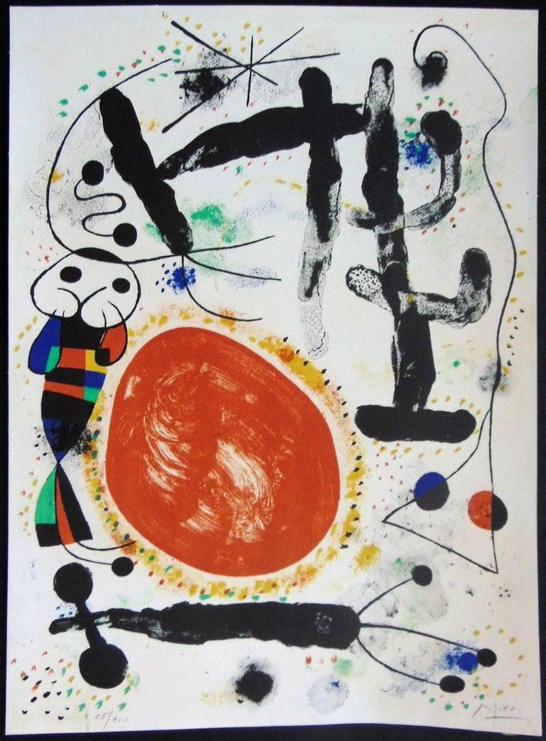 Day  Le Jour - Modern Print by Joan Miró