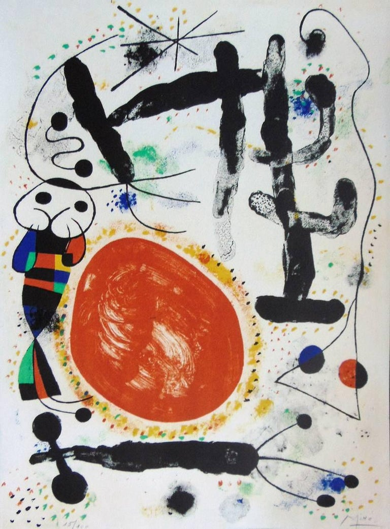 Day  Le Jour - Print by Joan Miró