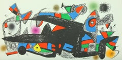 """""""Denmark"""" lithograph from """"Escultor"""" suite by Joan Miró - printed by Poligrafa"""
