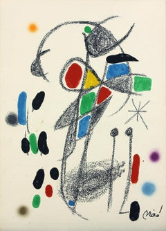 Ediciones Polígrafa Maravillas 18 plate-signed lithograph print by Joan Miró