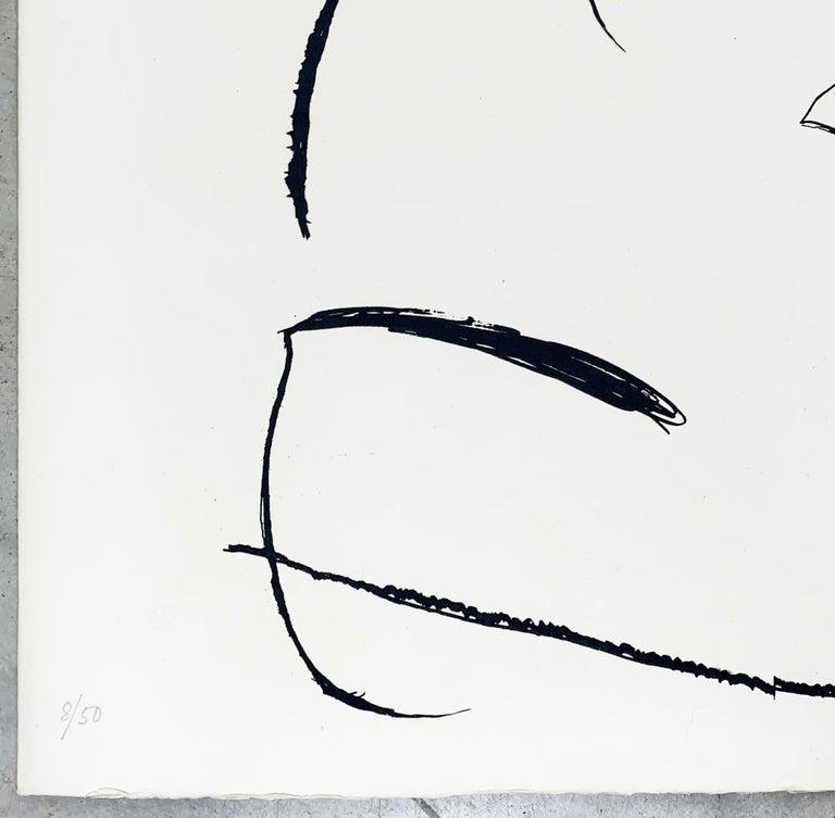 Espriu - Abstract Print by Joan Miró
