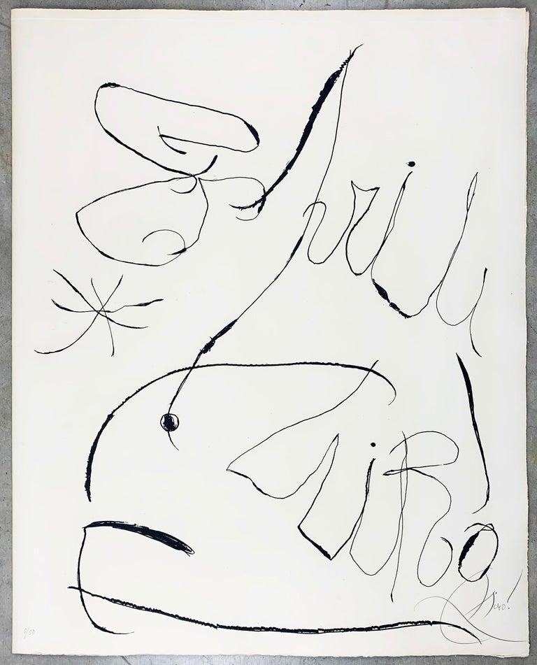 Joan Miró Figurative Print - Espriu