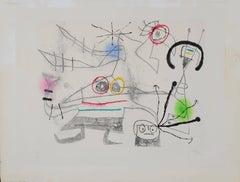 Joan Miro, Femme-Oiseau II
