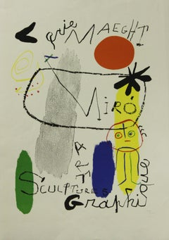 Galerie Maeght-Plate-signed Print