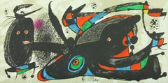 """""""Gran Bretanya"""" lithograph from """"Escultor"""" suite by Joan Miró from Poligrafa"""