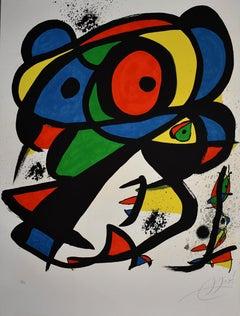 Hit without Wounding I  Colpir Sense Nafrar I -Spanish Surrealism Work on Paper