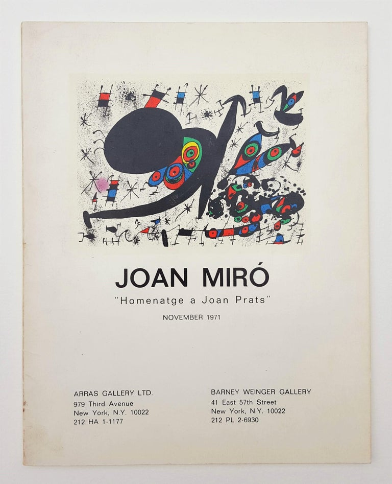 Homentage à Joan Prats (Plate 3) For Sale 14