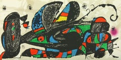 """""""Iran"""" lithograph from """"Escultor"""" suite by Joan Miró from Poligrafa"""