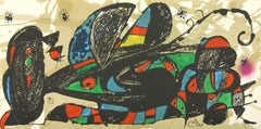 """""""Iran"""" lithograph from """"Escultor"""" Suite Number 2 by Joan Miró from Poligrafa"""