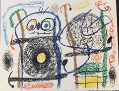 Joan Miro, Album 21, original lithograph, hand signed