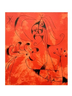 Joan Miro - Anger - Original Lithograph