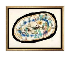 Joan Miro Color Lithograph La Naissance du Jour Hand Signed