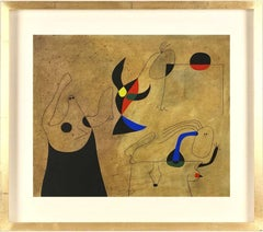 """Joan Miró: """"Constellations"""", pochoir after the painting."""