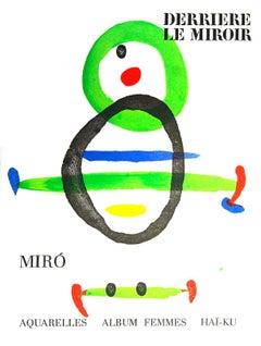 Joan Miró Derriere Le Miroir c.1967 (lithographic cover)