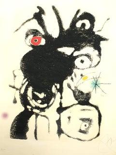 Joan Miro - Espriu - Original Handsigned Etching