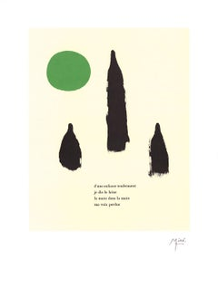 "Joan Miro-Illustrated Poems-""Parler Seul"" VI-23.5"" x 17.75""-Lithograph-2004"