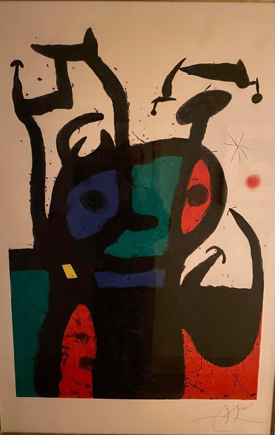 Joan Miro, Le Matador, etching