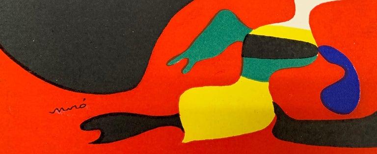 Joan Miro, L'Ete, (Summer), stencil - Print by Joan Miró