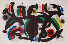 "Joan Miró - ""Lithografia Original VIII"" - Color Litograph - Spanish Edition"