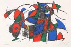 Joan Miro Lithographe II
